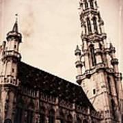 Old World Grand Place Art Print
