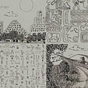 Old World New World Art Print