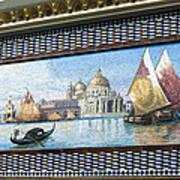 Old World Port Art Print
