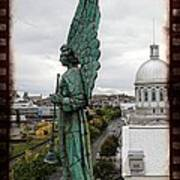 Olde Montreal Angel Print by Alice Gipson