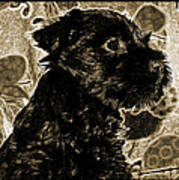 Olde World Canine Art Print