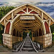 Oldest Steamtrain Station San Francisco Art Print