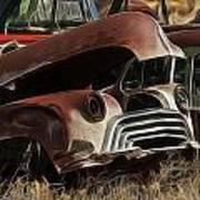 Oldsmobile 40s Art Print