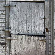 Ole Barn Door Art Print