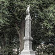 Ole Miss Confederate Statue Art Print