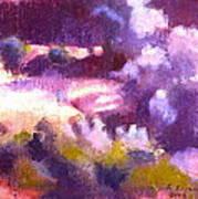 Olive Grove Art Print