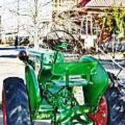 Oliver 60 Tractor In Dell Art Print