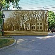 Oliver C. Brownell House On The Commons In Little Compton Rhode Island Art Print