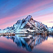 Olstind Lofoten Islands Norway Art Print