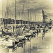 Olympia Marina 3 Art Print