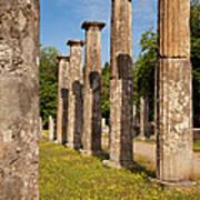 Olympia Ruins Art Print