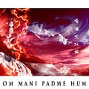 Om Mani Padme Hum Art Print