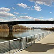 Omaha The Riverfront Art Print