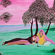 Omar Khayyam- Rubaiyat 1 Art Print