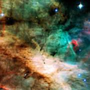 Omega Swan Nebula 2 Art Print