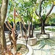 Omkareshwar Pune Art Print