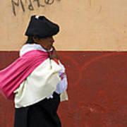 On An Errand In Otavalo Art Print