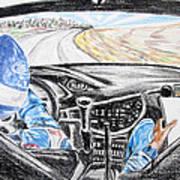 On Board Colin Mcrae Art Print