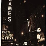 On Broadway Art Print