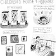 On Display At The Children's House Of Horror: Art Print