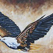 On Eagle's Wings Art Print