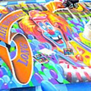 On Pineapple Street Art Print