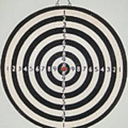 On Target Art Print by Paula Rountree Bischoff