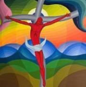On The Cross Art Print