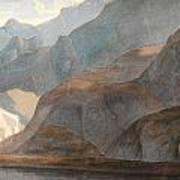 On The Lake Of Como Art Print