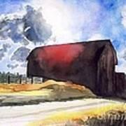 On The Macon Road. - Saline Michigan Art Print