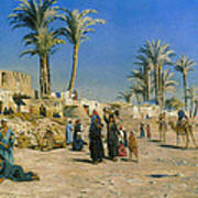 On The Outskirts Of Cairo Art Print