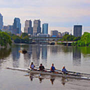 On The Schuylkill Art Print