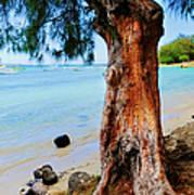 On The Shore 1. Mauritius Art Print