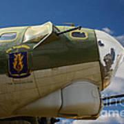 On The Tarmac B-17g Art Print