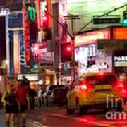 On The Town - Times Square Art Print