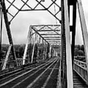 On The Washingtons Crossing Bridge Art Print