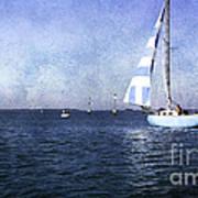 On The Water 3 - Venice Art Print