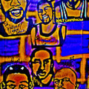 Once A Laker... Print by Tony B Conscious