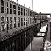 Once Industrial Georgetown Art Print by Olivier Le Queinec