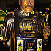 One Arm Bandit Slot Machine 20130308 Art Print