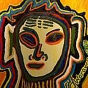 One Eyed Mystery Women Art Print