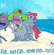 One Fish Two Fish Art Print
