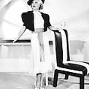 One Mile From Heaven, Claire Trevor Art Print