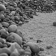 One Pebble Many Pebbles Art Print