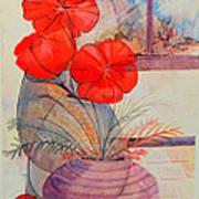 One Petal Down II Art Print