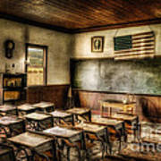 One Room School Art Print