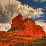 One Sedona Sunset Art Print
