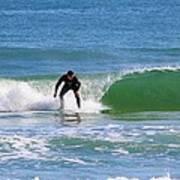 One Surfer Art Print