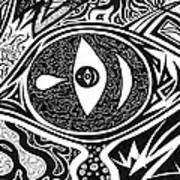 One Tear Art Print