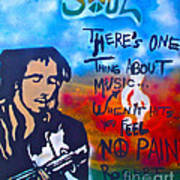 One Thing About Music Art Print by Tony B Conscious